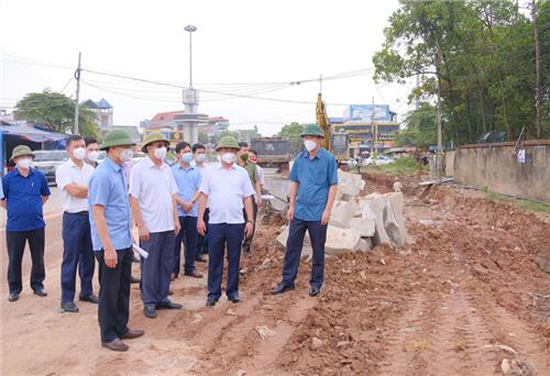 Striving to complete key traffic projects 30 days ahead of schedule