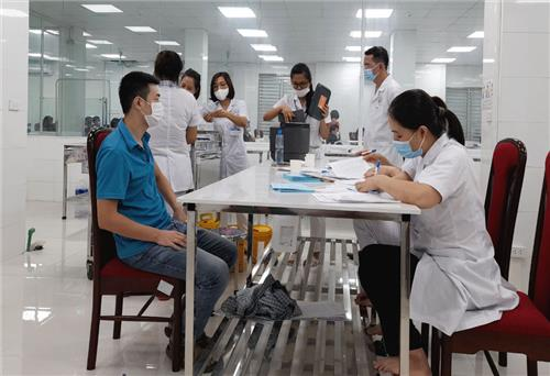 Thai Nguyen to inject 200,000 doses of Vero cell vaccine for laborers in industrial zones